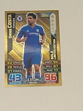 2015/16 - Topps Match Attax - Limited Edition - Gold - Diego Costa Chelsea