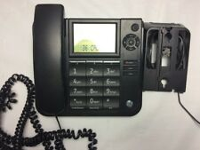General Electric Corded Phone with Caller Id Speakerphone Black, Lcd Battery