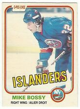 1981-82 OPC HOCKEY #198 MIKE BOSSY - EXCELLENT