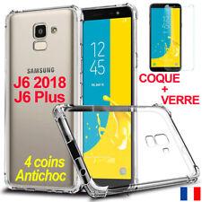 HOUSSE ETUI COQUE POUR SAMSUNG GALAXY J6 2018 - J6+ PLUS SILICONE CASE ANTICHOC