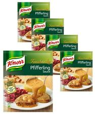 Knorr pfifferling (chanterell) sauce - five (5) bags for you