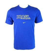 Nike Brasile Calcio T-shirt (blu) - Gioventù L (12-14 anni)