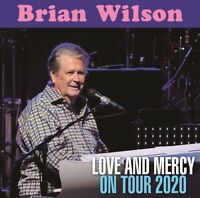 BRIAN WILSON LOVE AND MERCY ON TOUR 2020 CD ALBUM GOD ONLY KNOWS POP ROCK