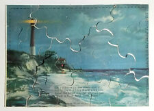 Weber Pullman Bread Advertising Jigsaw Puzzle Lighthouse