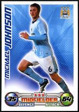 Michael Johnson-Man City-Match Attax. 08/09 tarjeta de comercio (C415)