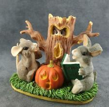 Charming Tails Figurine Ghost Stories Halloween Free Ship