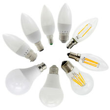 LED E27 E14 B22 3W 5W 7W 9W 12W 15W 18W SMD Globe Candle Bulbs Lights Lamp
