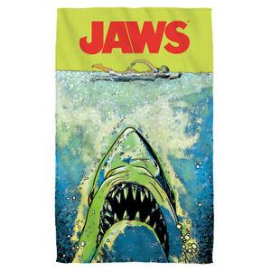 Jaws Attack 30x60 Bath Pool Brand New Licensed Movie Beach Towel