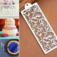 Lace Silicone Mold Mould Sugar Craft Fondant Mat Cake Decorating Baking-Tool.