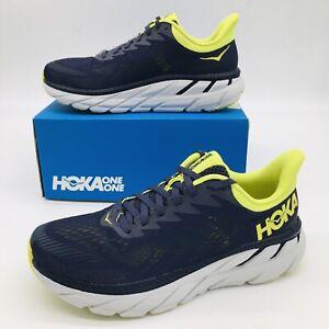 HOKA One One Clifton 7 Odyssey Grey Men's Running Shoe Size 12 D  Regular Width