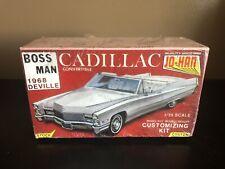 "Johan 1:25 ""Boss Man"" 1968 Deville Cadillac Convertible Model Kit"