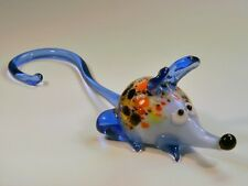 Glass Blown Art Figurine Murano Animals Mouse # 6067