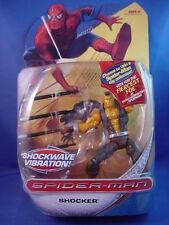 MARVEL SPIDER-MAN CLASSICS SHOCKER FIGURE w/SHOCKWAVE VIBRATION RARE SEALED NICE