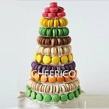 10 Tier Round Macaron Stand for 230 macarons by Cheerico Bakery Supplies.