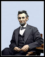 Abraham Lincoln #3 Photo 8X10 - President COLORIZED - Buy Any 2 Get 1 FREE