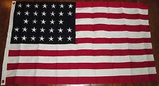COTTON, 33 Star American Flag...Early Civil War Flag, 1859 - 1861