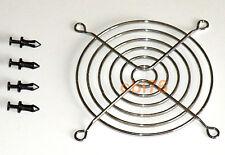 Grille de protection pour ventilateur 92x92mm + 4 clips fixation protège doigt