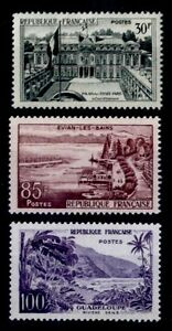 Série GUADELOUPE, Neufs ** = Cote 46 € / Timbres France 1192 1193 1194