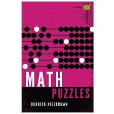 Brain Aerobics Math Puzzles by Derrick Niederman (2013, Paperback)