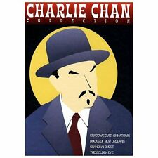 CHARLIE CHAN COLLECTION 4 DISC MOVIE DVD COLLECTION CHINATOWN NEW ORLEANS