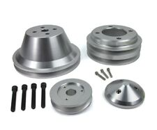 Ford Billet V-Belt Pulley Kit 351W Alternator Water Crank SB