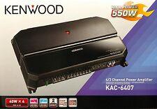 Kenwood KAC-6407 550 Watts 4/3 Channel Power Car Amplifier