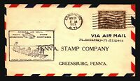 Canada 1929 FFC - Ft McMurray to Ft Simpson - Z16672