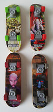 Lot of 4 Star Wars Clone Wars Tech Deck Finger Boards McDonalds Toys Fingerboard