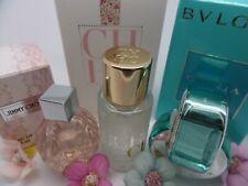 JIMMY CHOO~ Carolina HERRERA CH~ BVLGARI WOMEN edt MINI Miniature PERFUME SET