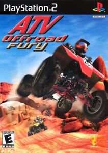 ATV Offroad Fury - Playstation 2 Game Complete