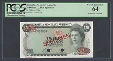 Bermuda 20 Dollars 1-3-1976 P31bs Specimen TDLR Uncirculated