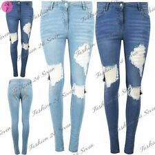 Unbranded Cotton Faded Jeans Jeggings, Stretch for Women