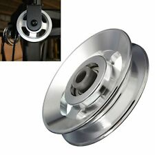 Universal Pulley Bearing Wheel Aluminum Heavy Load Cable Fitness Gym Equipment