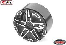 "RC4WD 1.9"" Bombshell Alloy Beadlock Wheel BLACK Hex Mounting SCX10 G2"