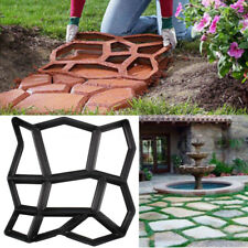 Driveway Pathmate Stone Mold Paving Concrete Stepping Stone Mould Pavement Paver