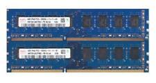 4x 1gb 4gb RAM de memoria DIMM ddr3 1333 MHz 240pin pc3-10600 pc3-10600u Desktop