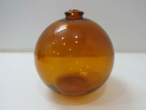 5 inch Tall Gold Amber North West Glass Seattle Glass Float -(F3A185A)
