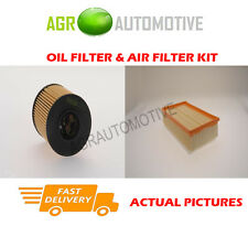 DIESEL SERVICE KIT OIL AIR FILTER FOR PEUGEOT 307 2.0 136 BHP 2003-07