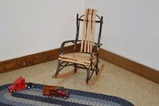 A&L Furniture Co. Amish-Made Hickory Child's Rocking Chair, in 3 Finishes
