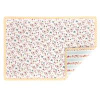 Clayre /& Eef Tischset gequiltet Baumwolle 48 x 33 cm Mon Petit Chat Katze