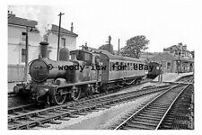 bb0197 - BR Steam Train 1452 at Churston Station , Devon in 1958 - photograph
