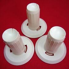 NEW 3 Fluted Cones for Ball winder WOWI+ELWO+TWISTER+BILLI - Standard Cones