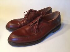Cable And Co Brown Lace Up Oxfords Size 10D