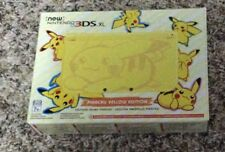 New 3DS XL Pikachu Yellow Edition US Version Ships Fast. Trusted Seller Pokemon