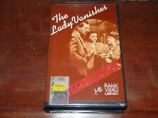 Hitchcock's The Lady Vanishes VHS 1930's Classic Rank Home Video PAL RARE