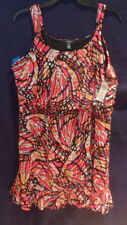 Style & Co. Sundress Isla Bonita in Geo Metric Reds 2X NWT $69