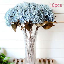 1 Bouquet Artificial Fake Peony Silk Flower Hydrangea Home Wedding Garden Decor
