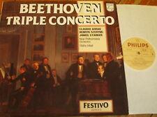 6570 070 Beethoven Triple Concerto / Arrau / Szeryng / Starker / Inbal / Philh