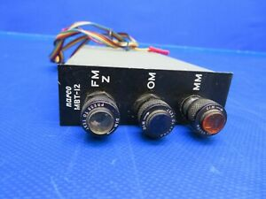 Beech G35 Bonanza Narco Marker Beacon Receiver 12 V P/N MBT-12 (0620-353)