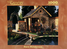 A Cats Place 1000 Pc Jigsaw Puzzle The Gallery Hasbro MB Dave Henderson Cottage